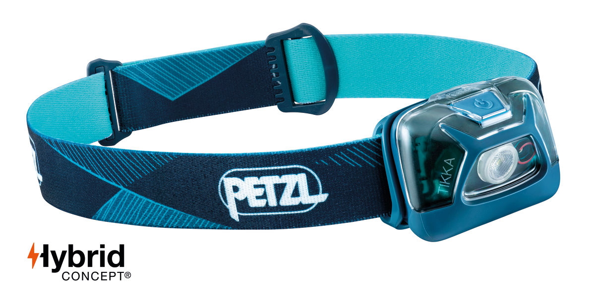 Petzl Tikka Headlamp Blue