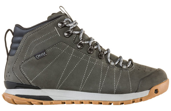Oboz M Bozeman Mid Leather Charcoal