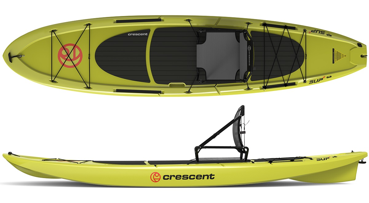 Crescent SUP Paddleboard Citron