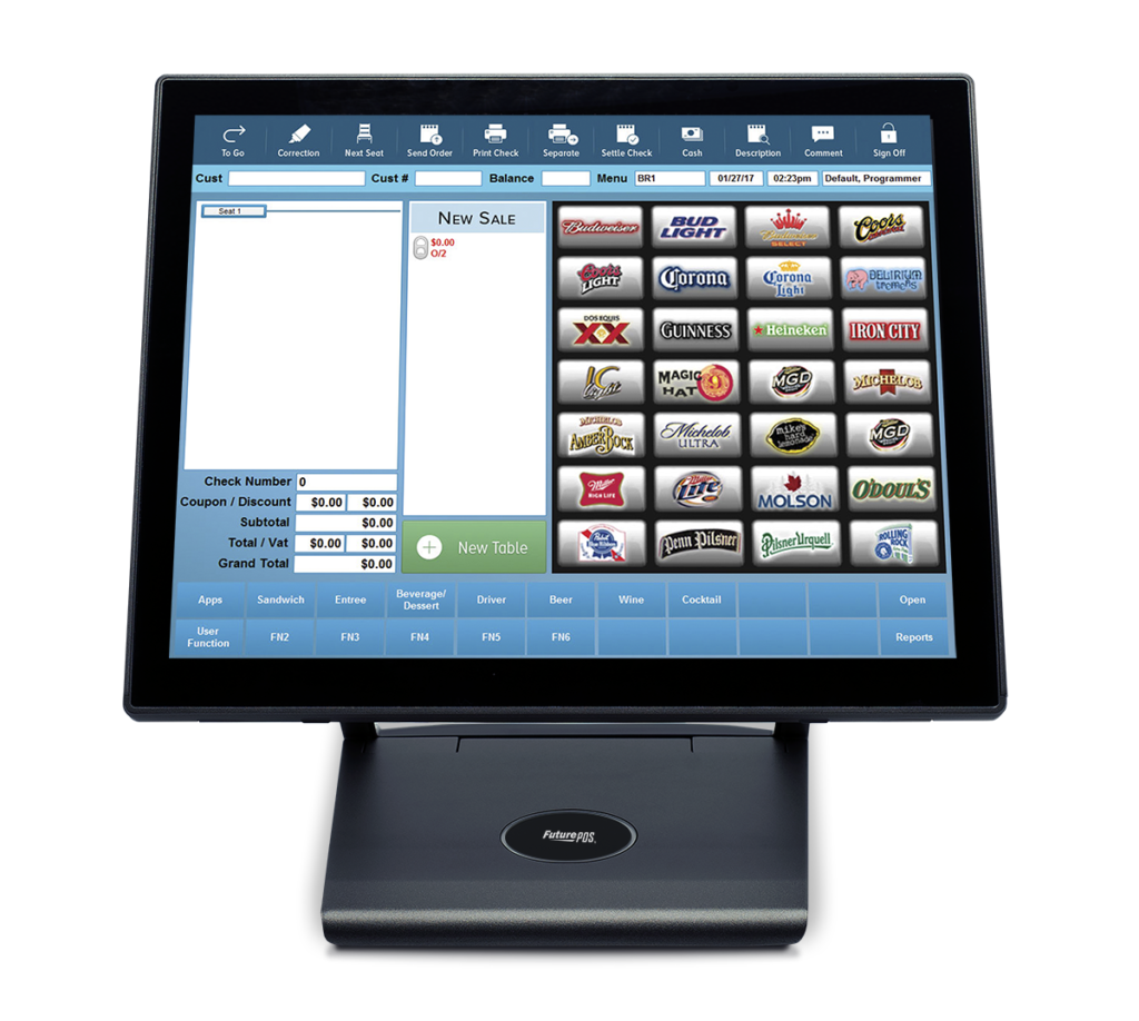 Regular POS Terminal - services for restaurants and bars