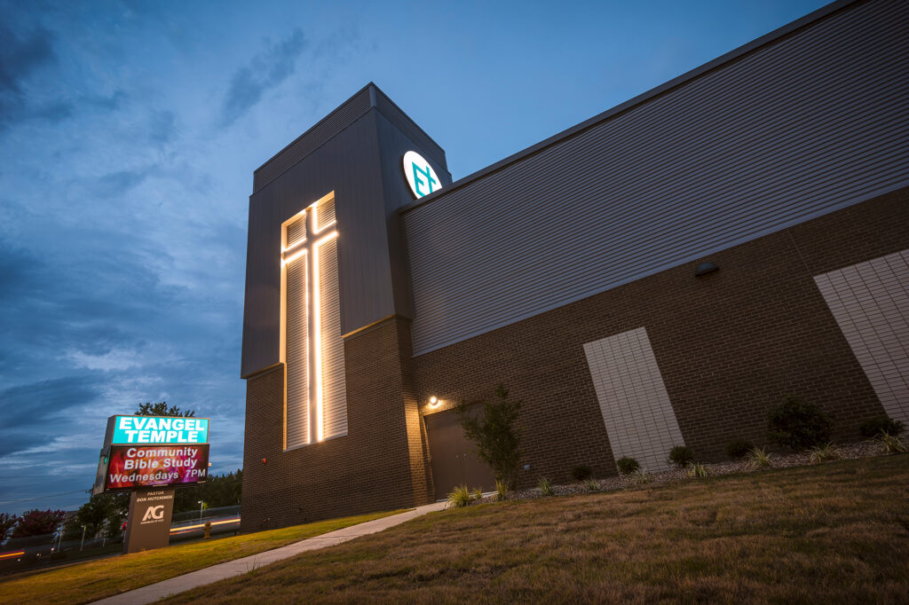 Beshears Construction Projects Evangel Temple New Sanctuary