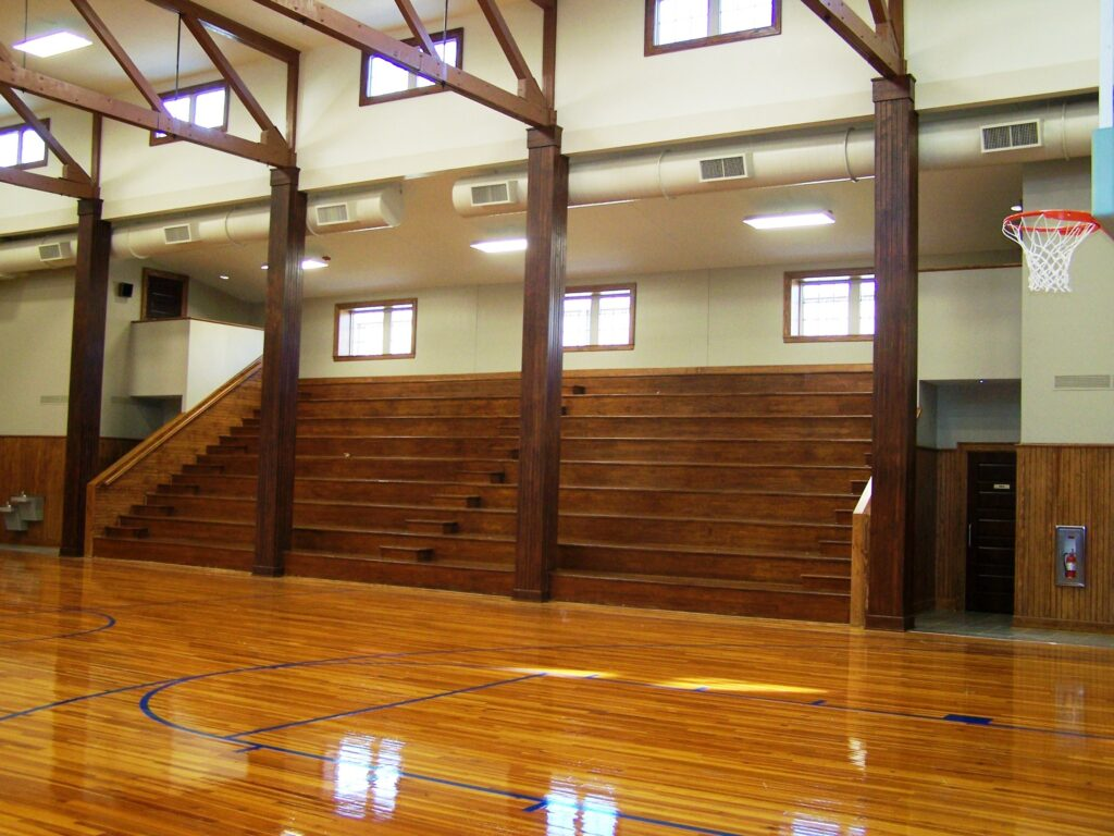 Beshears Construction Projects Greenwood Old Rock Gym