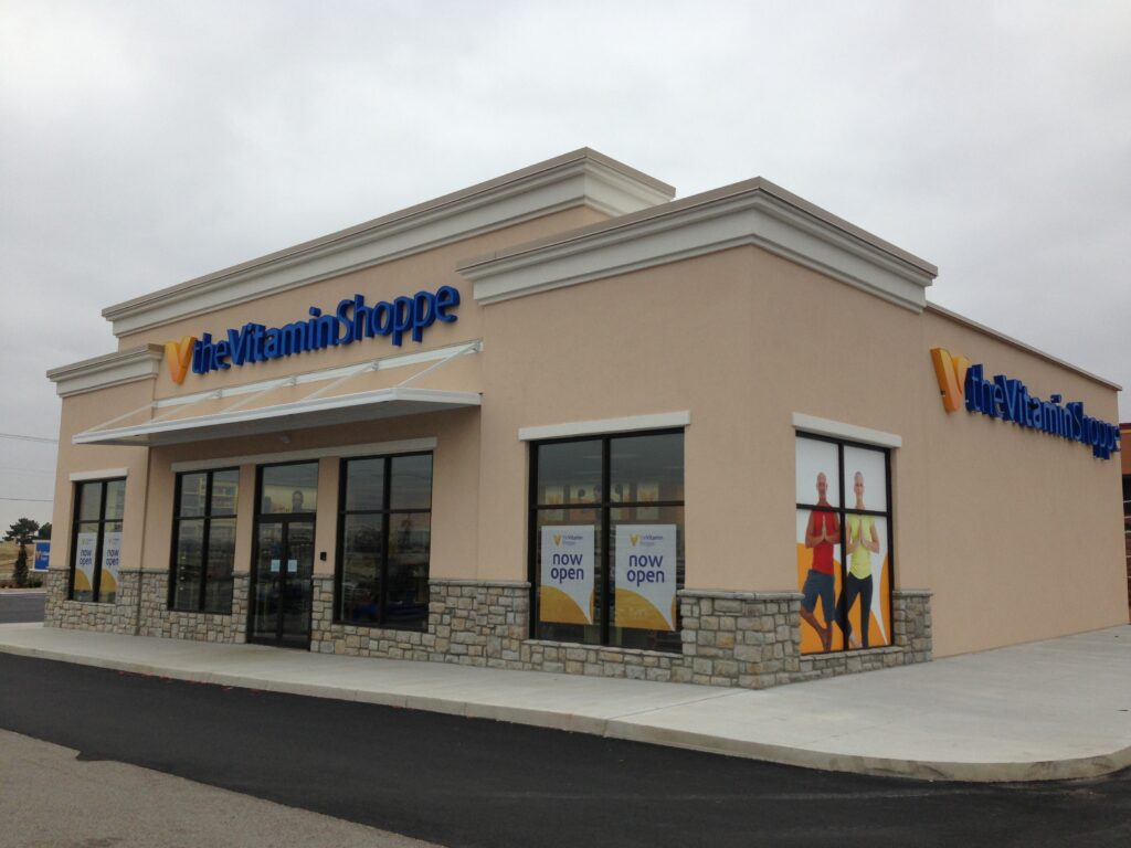 Beshears Construction Projects Vitamin Shoppe