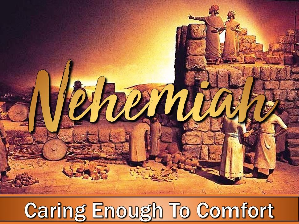 Arise and Build - Caring Enough To Comfort