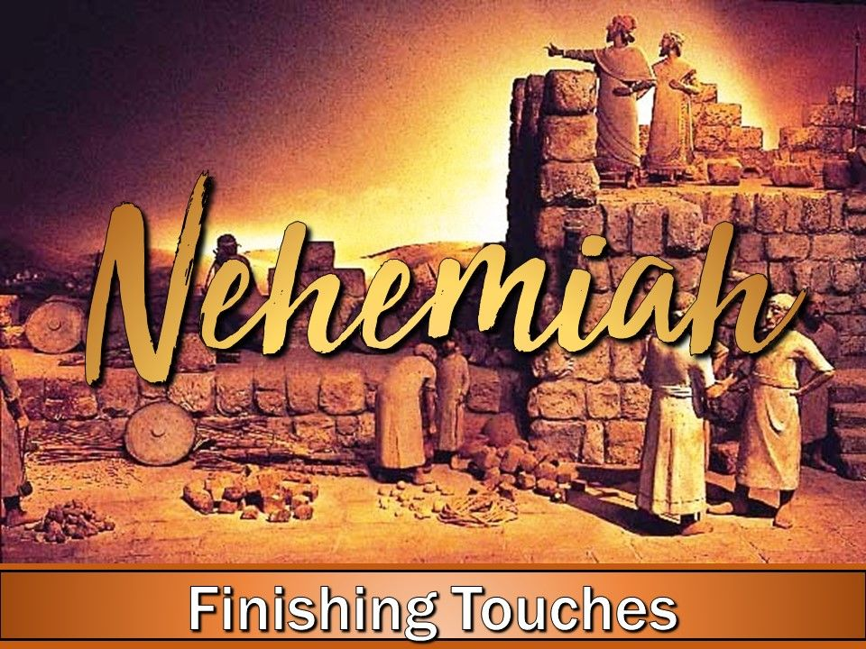 Arise And Build - Finishing Touches
