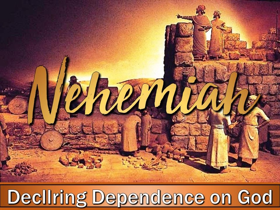 Arise And Build - Declaring Dependence On God