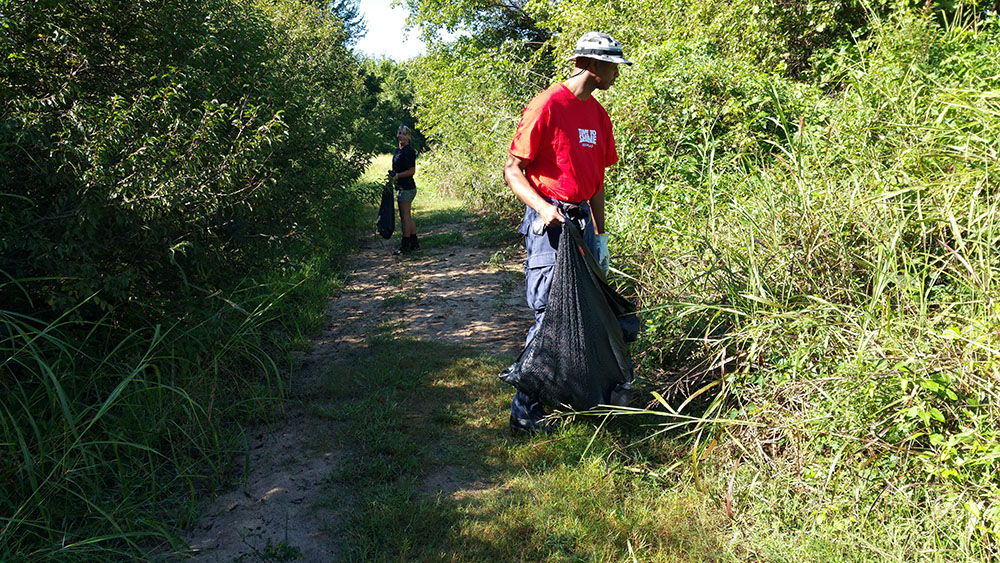 The Great Arkansas River Cleanup in Fort Smith 2015