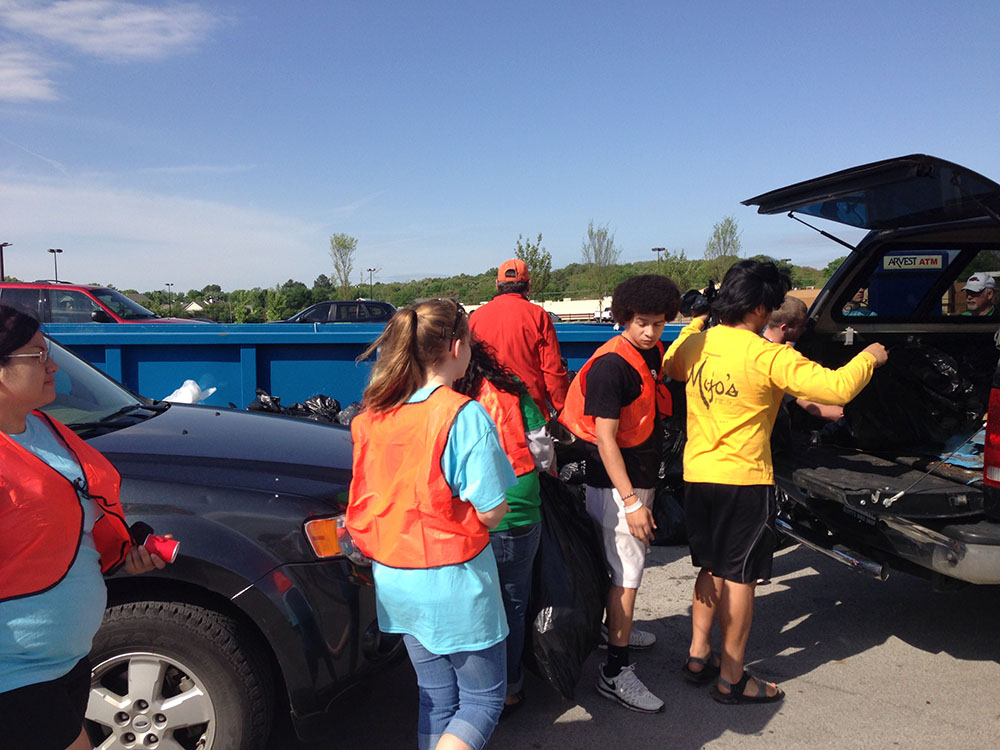Beautify Fort Smith Spring Litter Event 2014