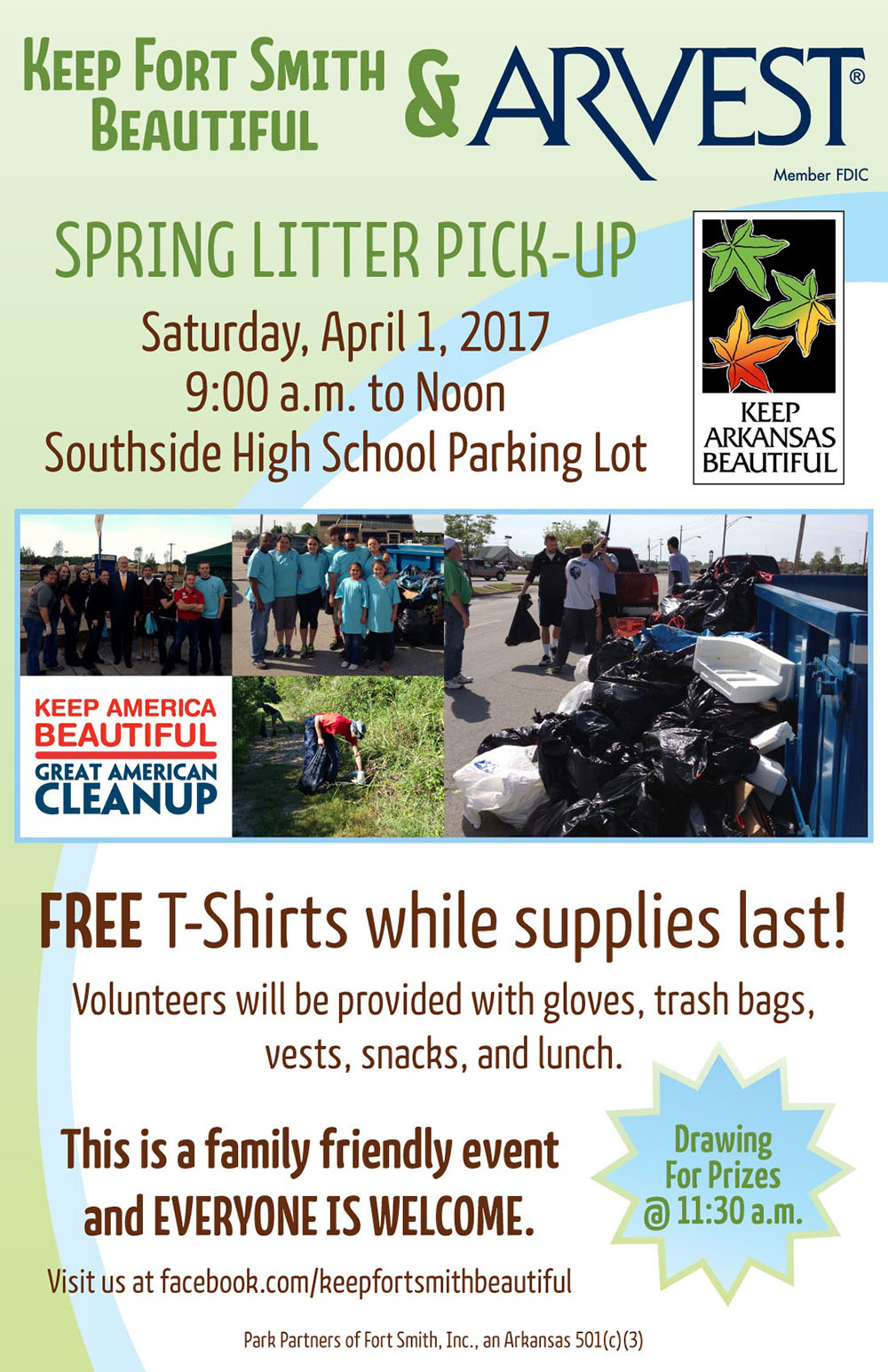 Beautify Fort Smith Spring Litter Event 2017