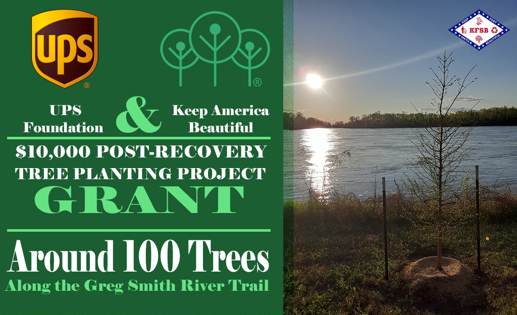 "Keep Fort Smith Beautiful Completes ""Recovery Tree Planting Project"""