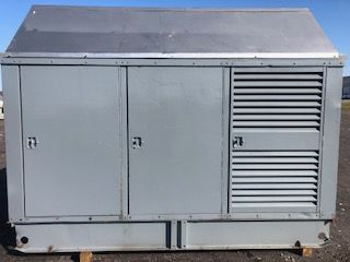 compressor in housing container